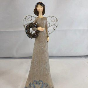 "8"" Angel Figurine with Gift Box by Valerie"
